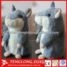 Запись голоса Говорящий хомячок Плюшевый повтор Говорящий хомяк игрушка для детей