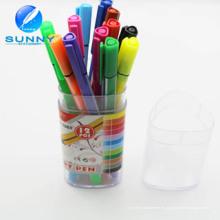 Pluma de marcador del trazador de líneas fino al por mayor del multicolor para el estudiante