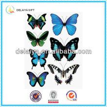 2013 Новый прекрасный ПВХ бабочка наклейки бумаги