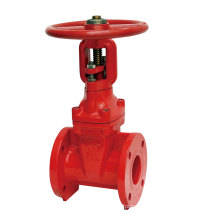 BS5163 Flanged Resilient Gate Valve, Rising Stem