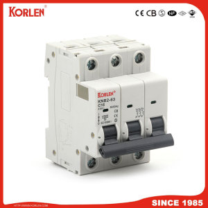 MCB KNB2-63 Miniature Circuit Breaker 1P,2P,3P,4P 1A-63A with 10KA high  breaking capacity