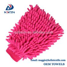 Gant de lavage de mitaine de lavage de voiture de Microfiber Chenille anti-rayure pour le camion de SUV de voiture