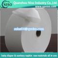 O papel absorvente super do polímero para absorvente sanitário