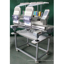 New type TWO heads cap embroidery machine with price