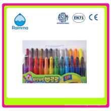 6/8/10 / 12colors Twist Crayon para niños