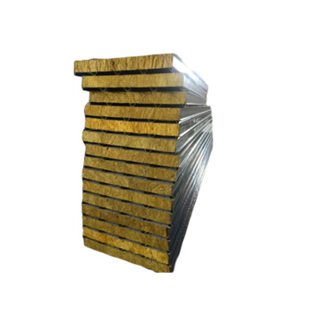 Low Cost Fireproof Rockwool Sandwich Panel Insulation Panel