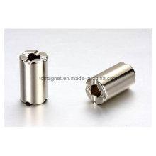 Producir imanes de cilindro usados en el interruptor
