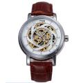 oem display case sapphire crystal skeleton watch