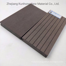 Solid WPC Wood Decking with Grooves