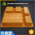 clamshell packing plastic disposable box for food