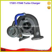 Turbocompresor eléctrico CT26 17201-17040 para motor 1HD-Fte para Toyota