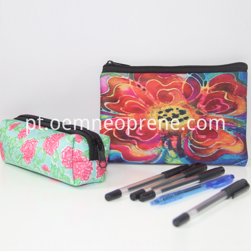 printed pencil bag