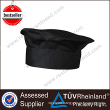 Shinelong High-End Cheap Non Woven Cotton Black Chef Hat