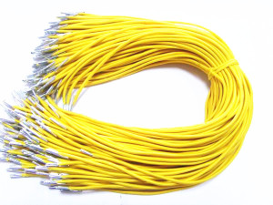 Yellow Elastic Rope With Metal Ends