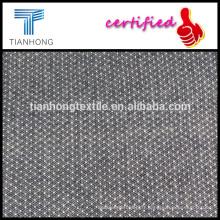2016 jacquard nouvelle conception 90 10 ratière spandex style laine sentiment flanelle tissu de rayonne pour robe