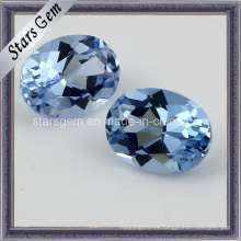 8 * 10m m Forma Oval 108 # Spinel Synthetid Diamante