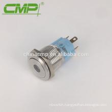 12v or 24v Red LED Lamp Push Button Switch