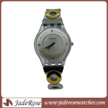 Горячая мода роскошные сплава часы для женщин