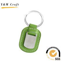 Porte-clés en cuir pour logo