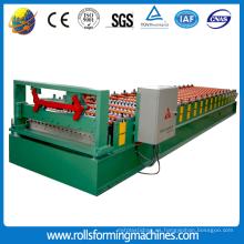 Máquina formadora de rollos de lámina corrugada automática