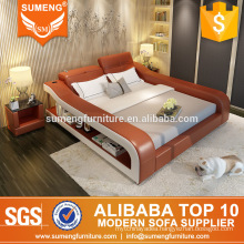 SUMENG 2016 New design modern cheap round bed designs