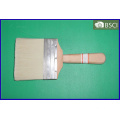 (SHSY-0332) White Bristle Plain Wooden Handle Paint Brush