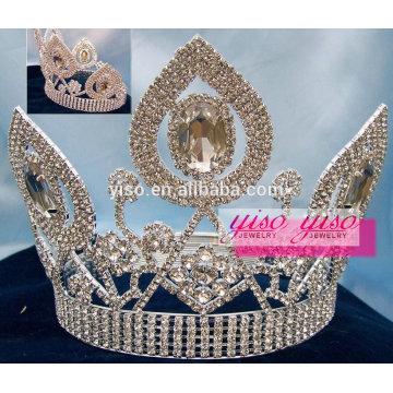 sparking wholesale queen diamond crystal tiara