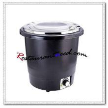 C350 10L Kettlet econômico de aço inoxidável com tampa de aço inoxidável