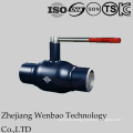 Fully Welded Manual Ball Valve with Standard Port for Gas