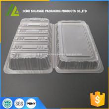 caja de plástico para pastel