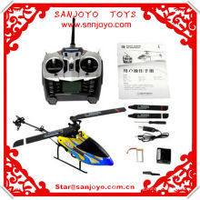 SH 6050 6CH GYRO 3D Inverted Flight RC Flybarless RC Helicopter Heli LCD