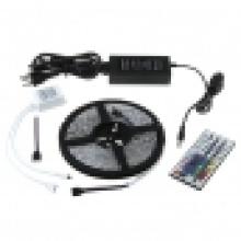 SMD LED RGB Светодиодная лента 5050 60 пикселей / метр Водонепроницаемые светодиодные фонари 5V