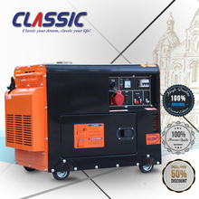CLASSIC CHINA 5KW Diesel Power Silent Type AC Single Phase Soundproof Diesel Generator 5KVA