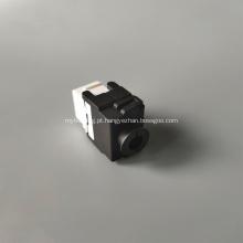 CAT6A Tomada Keystone sem ferramentas Dual IDC 180 graus