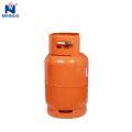 Cilindro de gás da venda direta da fábrica de Cambodia 15kg, cilindro de propano, garrafa de gás