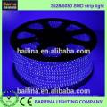 vente chaude 3528 CRI80 blanc chaud LED bande flexible lumineuse