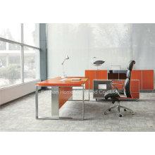 L Современный офисный стол с ножкой из нержавеющей стали (HF-SIA01)