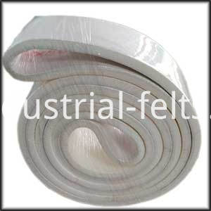 180 degree centigrade Polyester Felt Conveyor Belt