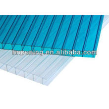 Polycarbonate resin new building material twin wall colored polycarbonate sheet for roofs skylight awning