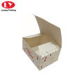 Recycled Die Cutting Paper Folding Packaging Box