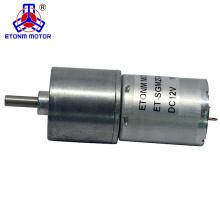 Motor de corriente continua de alto par 9v para cajón eléctrico