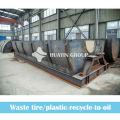 Waste tyre/plastic oil refining plant manufacturer