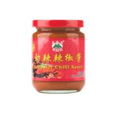 Salsa de chile picante extra en frasco de vidrio de 230 g