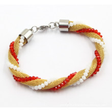 Fashion Mesh Stainless Steel Bracelet Jewelry for Girls