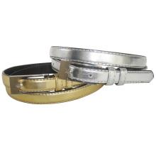 Gold and Silver Lady Fashion PU Belt (KY765)