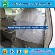 Couverture de siège de voiture en plastique jetable de HDPE ou de LDPE de qualité