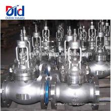 Katalog Gusseisen Ci C Unterschied zwischen Kugel und Schieber V Ansi Cl150 4-Zoll-Kugelventil Dampf