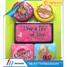 hot sale sexy cute girl barbie resin epoxy fridge magnet