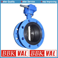 Double Flange Concentric Butterfly Valve with Vulcanized Seat