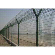 Забор ПВХ для аэропортов / Сварные панельные ограждения